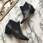 Кожаные деми ботинки челси Villain рр 37