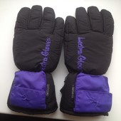 Перчатки лыжные Thinsulate,унисекс,очень теплые!