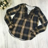 Фирменная тёплая рубашка Abercrombie&Fitch, размер XS