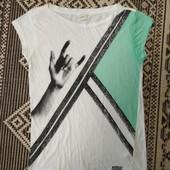Классная футболка из тоненького хлопка от Diesel,p.M