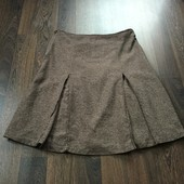 H&M юбка шерсть-шелк р-р 40 L