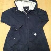 Куртка парка фирменная на весну Armani Jeans р.48