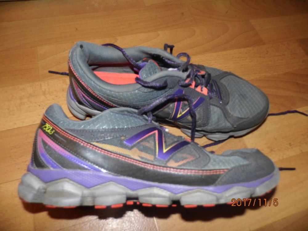 кожаные кроссовки 41,5 р UK 8 New Balance фото №1