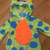 Качественный карнавальный костюм монстрика 3-4 года