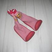 Тапочки-носки с резиновой подошвой Скиддерсы 24 р