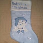 Продам новый рождественский носок для подарков!