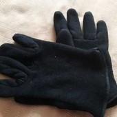 Тёплые вязаные перчатки
