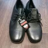 Мужские туфли кожа 42 размер,стелька 28 см