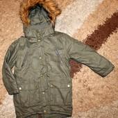 Куртка-парка на мальчика 116 р