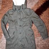 Куртка-парка на девочку 146 р