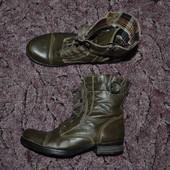 Р. 38 - 25,5 см. Tamaris. Ботинки утепленные, борцовки. Фирменные, оригинал.