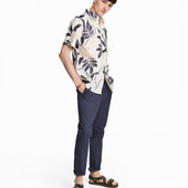 Чиносы мужские H&M темно-синие