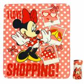 Плед флисовый Minnie Maus, производитель Disney.