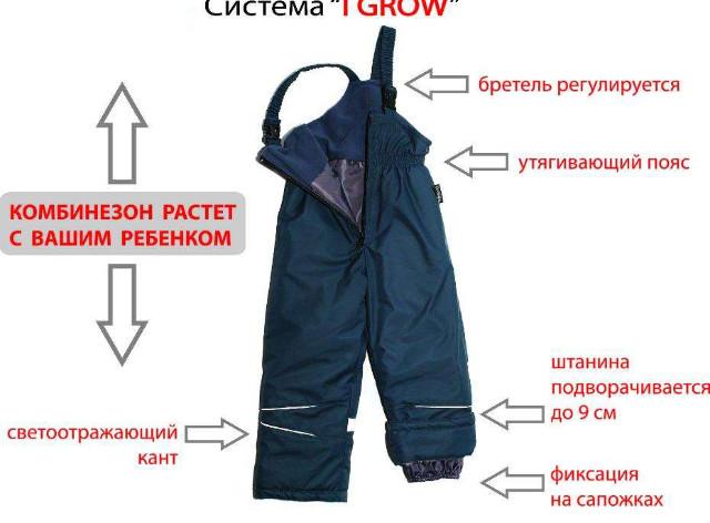 Полукомбинезон зимний,термо,комбинезон лыжный,аналог reima, chicco фото №1