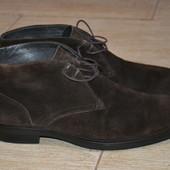 Stonefly 42.5-43р ботинки Италия замшевые . Оригинал. Демисезон.