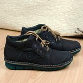 Кожаные легкие ботинки Wolky 8384 Голландия 37р. 24 см.
