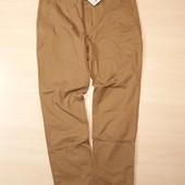 Мужские горчичные брюки-чиносы размер 54  10-108 Ю