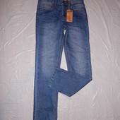 xs-s, поб 44-46 узкачи! джинсы мужские слимы Y.F.K. Германия, новые с бирками!