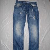 W36 L32, поб 58-60, крутые джинсы рванки Savvy, Италия