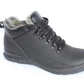 Скидка! 42 размер! Мужские кожаные ботинки