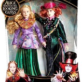 Disney Alice through the looking glass Alice and Mad Hatter набор шляпник и алиса в зазеркалье