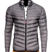 Мужская стёганая куртка демисезонная №2