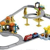 Chuggington Большая интерактивная железная дорога с коробкой
