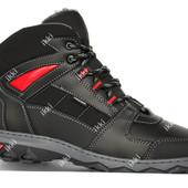 40 р Зимние стильные и теплые мужские кроссовки (КБ-8чр)