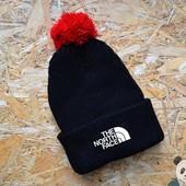 Мужская зимняя шапка ( разные цвета и бренды смотрим доп фото )