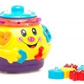 Limo Toy Развивающая игрушка 2056/0915 Горшок-сортер на укр.