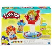 Play-doh парикмахерская сумасшедшие прически плей до
