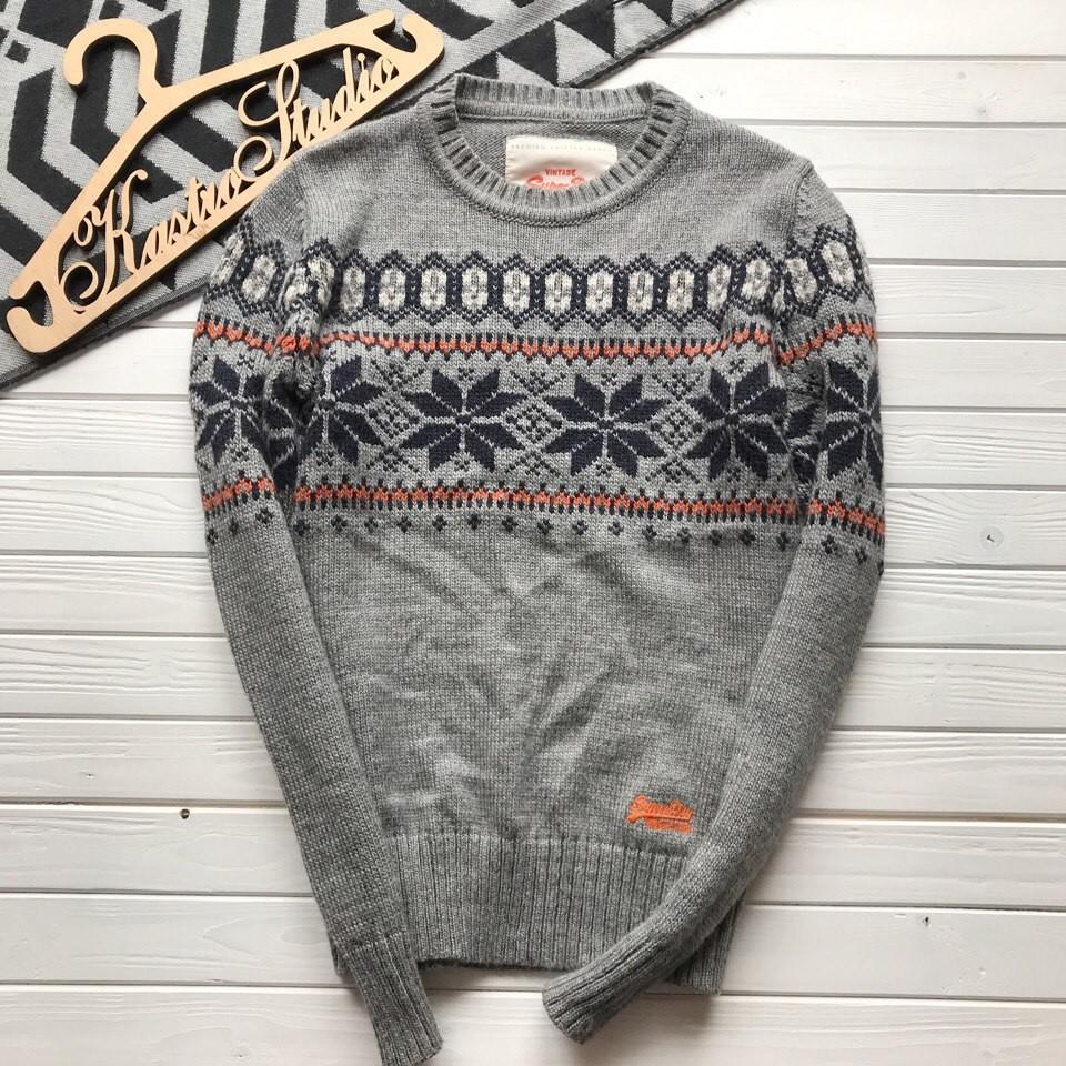 Крутой мужской свитер Superdry рр С фото №1