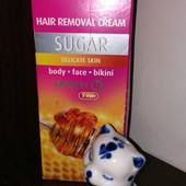 Сахарный крем для депиляции от польской компании Bielenda
