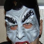 Фирменная карнавальная маска Дракула .