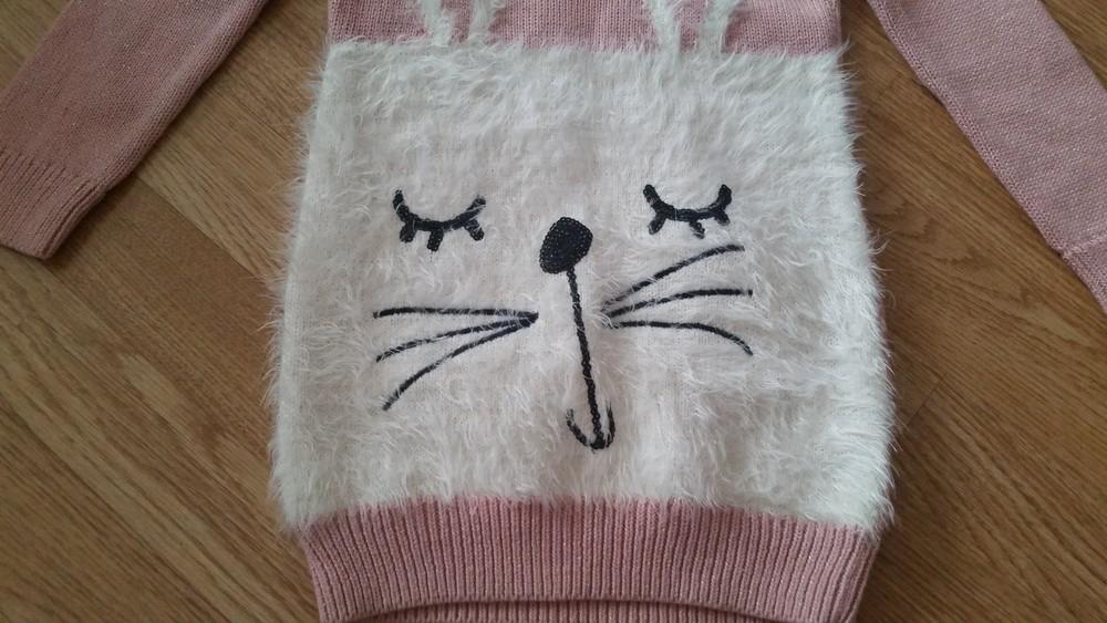 Новый! красивенный свитер туника bluezoo, 5-6лет фото №3