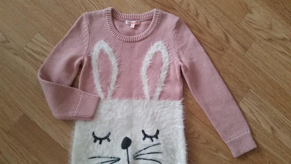 Новый! красивенный свитер туника bluezoo, 5-6лет фото №4