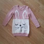 Новый! Красивенный свитер туника Bluezoo, 5-6лет