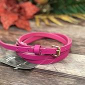 Яркий ремешок розового цвета о т New look