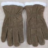 Продам новые, фирменные Atlas,замшевые зимние перчатки!