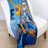 Детский флисовый плед Lego Nexo Knights рыцари Нексо Ланс 100х150 для мальчика