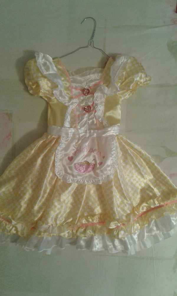Продам нарядное платье goldilocks златовласка или маша и медведи))девочке 5-6лет, 110-116см. фото №1
