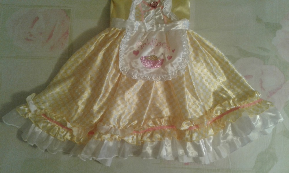Продам нарядное платье goldilocks златовласка или маша и медведи))девочке 5-6лет, 110-116см. фото №2