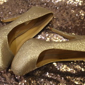 Шикарные туфли Dorothy Perkins серебро. Новогодний корпоратив