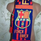Фирменний оригинал футбольний шарфик шарф Nike.ф.к Барселона .