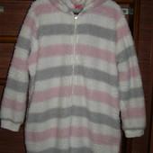 Пижама флисовая, размер ХL рост до 175 см
