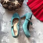 Замшевые туфли Clark's рр 38,5