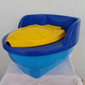 Горшок детский Рибка с крышкой