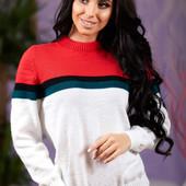 Красивый свитер шерстяной