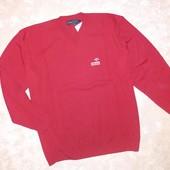 Пуловер мужской красного цвета р. 52 / 3XL