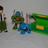 разные фирменные фигурки игрушки Ben 10 Бен тен Бен 10 черепашки ниндзя Teenage Mutant Ninja разные